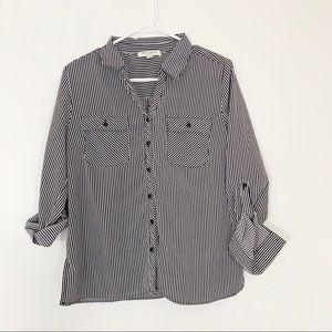 Stripped button down/blouse   Studio Works   LP
